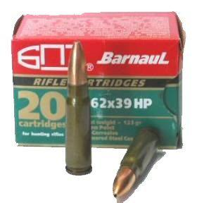 Barnaul 7.62x39 123gr HP, 1000 Rounds?>