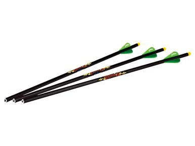 "Excalibur Diablo 18"" Illuminated Carbon Arrow, 3 Pk?>"