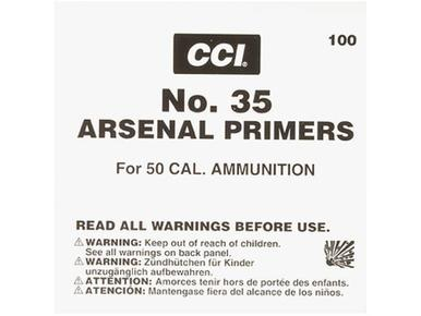 CCI 50 BMG Primers #35, 100 Pack?>