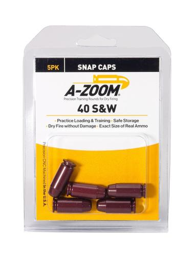 A-Zoom 40 S&W Snap Caps, 5 Pk?>