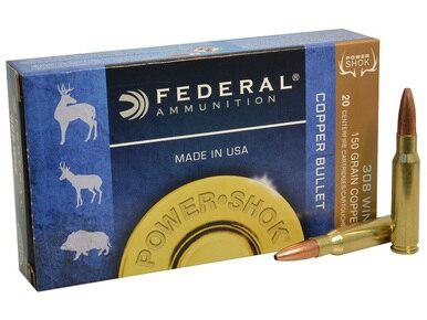 Federal Power-Shok 308 Win 150gr Copper Hollow Point, Box of 20?>