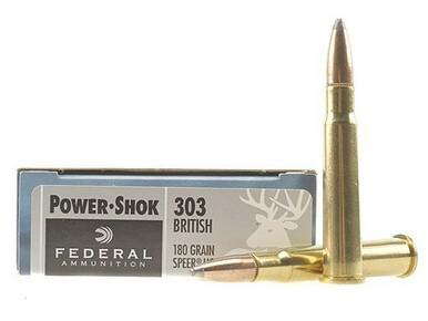 Federal 303 British 180gr Power-Shok box of 20?>