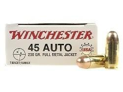Winchester USA 45 ACP 230gr FMJ, 250 rounds?>