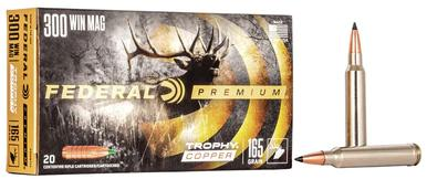 Federal Trophy Copper 300 Win Mag, 165 Gr, 20 Rds?>
