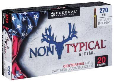 Federal Non-Typical .270 Win 130 Gr, SP, 20 Rds?>