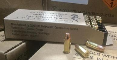 General Dynamics (IVI) 9mm 147gr Non Toxic, 1000 Rounds?>