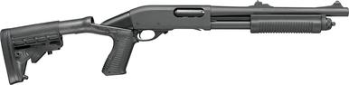 "Remington 870 Police 12 Ga Pump, 3"", 2 3/4"" 14"" Barrel, Parkerized?>"