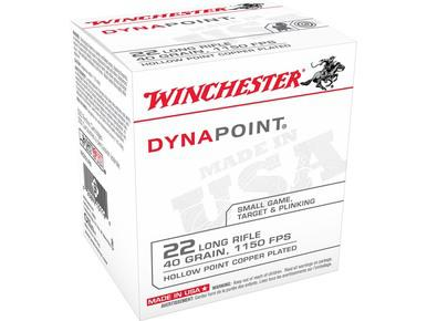 Winchester Dynapoint 22LR 40gr Plated HP, Box of 500?>