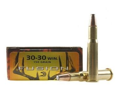 Federal Fusion 30-30 WIN, 150gr Flat Nose, Box of 20?>