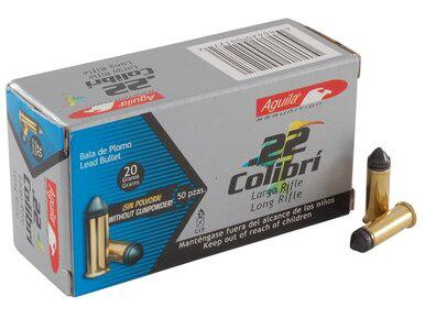 Aguila Colibri 22LR, 20gr Solid Point, Box of 500?>
