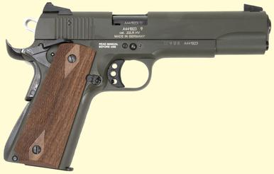 GSG 1911 22LR, OD Green, Brown Grips, Free Shipping?>