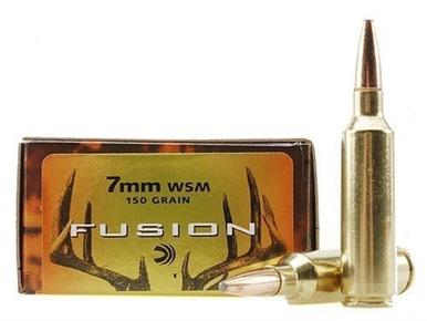 Federal Fusion 7mm WSM, 150gr Spitzer Boat Tail, Box of 20?>