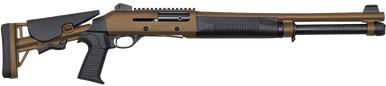 "Canuck Operator 12 Ga, Semi,  18.5"" Barrel, W Pistol Grip, TAN?>"