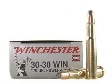 Winchester 30-30 WIN 170gr Power Point, 20 Rounds?>