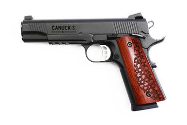 Canuck 1911 w/Rail, 45ACP, Blued, Free Shipping?>