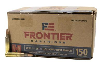 Frontier Cartridge 223 Rem, 55gr HP Match, Box of 150?>