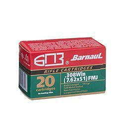 Barnaul 308 Win/7.62x51 145gr FMJ, 240 Rounds?>