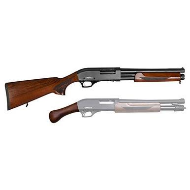 Canuck Regulator/ Defender Combo 12 Ga, Pump Action  , Wood?>