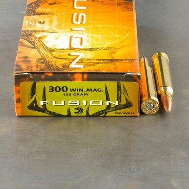 Federal Fusion 300 WIN MAG, 150gr Spitzer Boat Tail, Box of 20?>