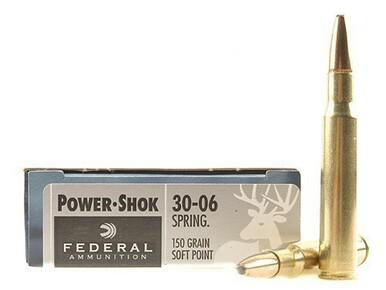 Federal 30-06 Springfield 150gr Power-Shok Box of 20?>