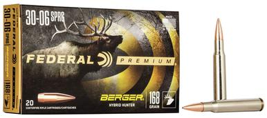 Federal Berger Hybrid Hunter 30-06 SPRG, 168 Gr, 20 Rds?>