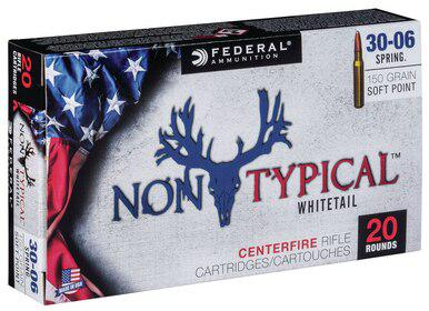 Federal Non Typical 30-06 Sprg, 150 Gr, 20 Rds?>