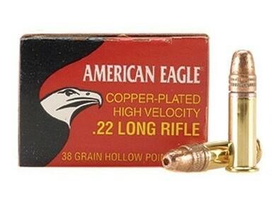 American Eagle 22LR 38gr HP 400 rounds?>