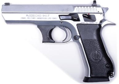 "IWI Jericho 941 9mm, 4.5"" Chrome Surplus?>"