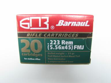 Barnaul 223 55gr FMJ, Box of 20?>