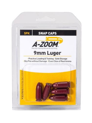 A-Zoom 9mm Luger Snap Caps, 5 Pk?>