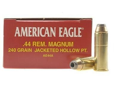 American Eagle 44 Magnum 240gr Jacketed Hollow Point, Box of 50?>