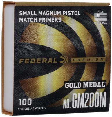 Gold Medal Match Small Magnum Pistol Primers, 1000 Ct?>