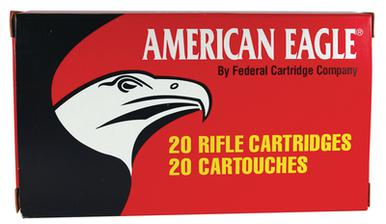American Eagle 223 62gr FMJ, 20 Rounds?>