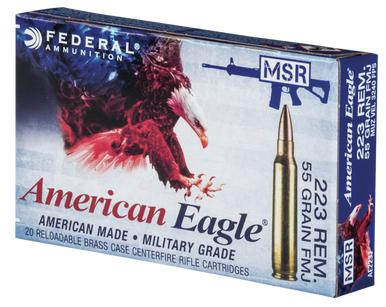 American Eagle 223 55gr FMJ, 500 rounds?>