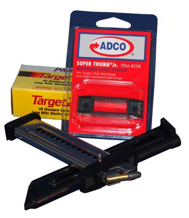 ADCO Arms Super Thumb Jr - Ruger Colt Browning HS Type Speed Loader ?>