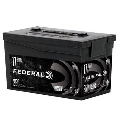 Federal Black Pack 17 HMR, 17 Gr, HP, 250 Rd Can?>