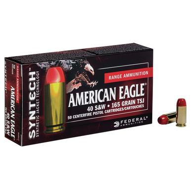 American Eagle 40 S&W 165 Gr, Syntech, 50 Rds?>
