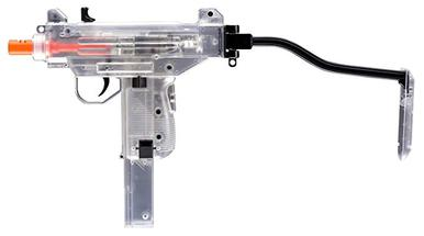 Umarex UZI Mini Clear 6mm Airsoft Pistol, 240 fps?>