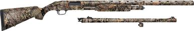 "Mossberg 500 Field Combo 12 Ga, 24"" Rifled Slug and 28"" Vent Rib Brl?>"