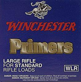 Winchester Large Rifle Primers, #8-1/2 - 120, Box of 100?>