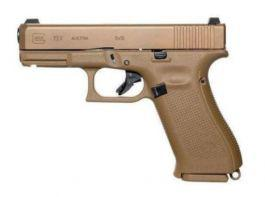 Glock G19X 9mm Pistol Coyote Brown with 3 Magazines?>
