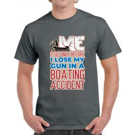 Boating Accident T-shirt?>