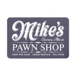 Mike's Pawn Shop Sticker?>