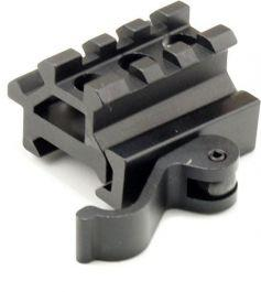 Quick-Release Two-position Mini Picatinny Rail (45-Degree or Elevated)?>