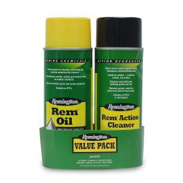 Remington Clean Action Value Pack (Rem Oil & Rem Action Cleaner)?>