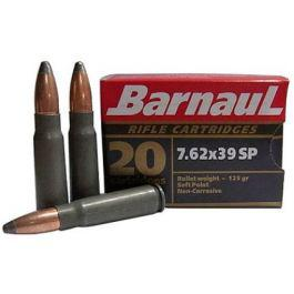 Barnaul 7.62x39 125gr Soft Point 20rd. Box?>