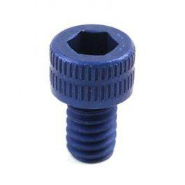 Gas Key Screw, Blue-Anodized Aluminum?>