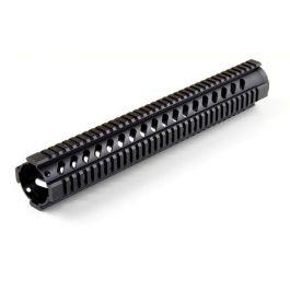 Free-Float Picatinny Quad-Rail Handguard w/Slots?>