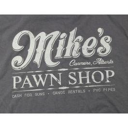 Mike's Canmore Pawn Shop T-Shirt?>