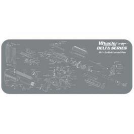 "Wheeler Delta Series Maintenance Mat - 20x47""?>"